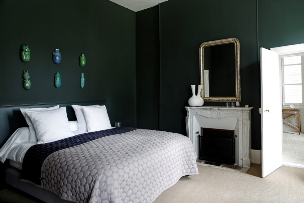 Irancy hotel room with art and design at Château de la Resle member of Design Hotel